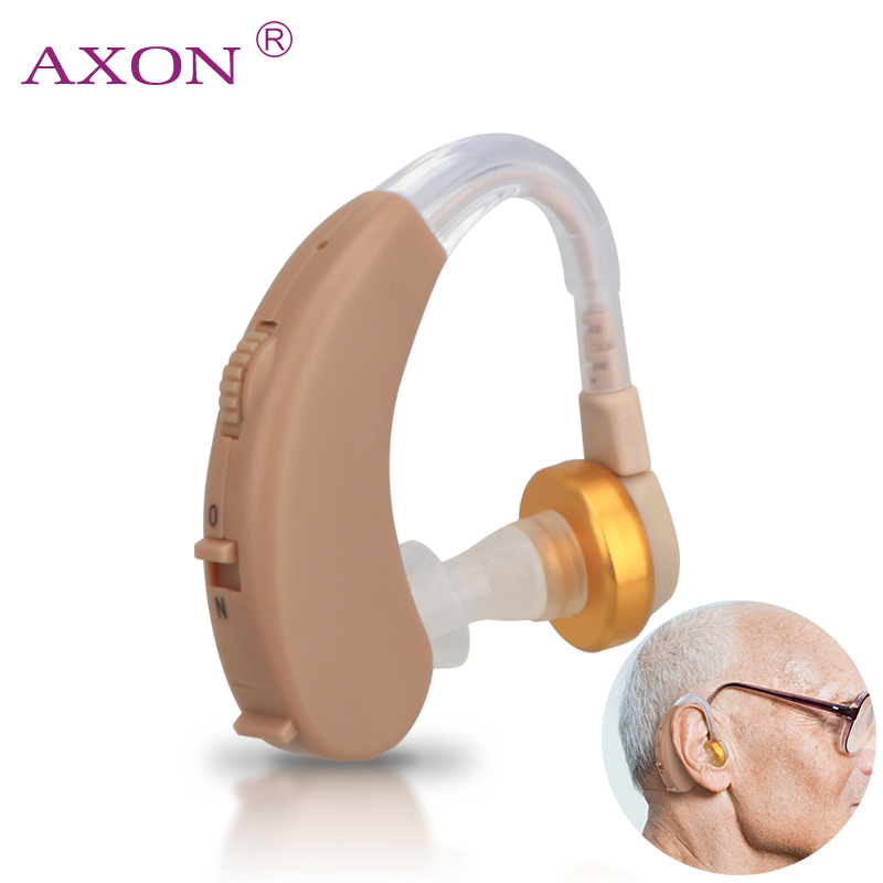 Aparelho Auditivo Adjustable Hearing Aid Invisible Sound Voice Amplifier Volume Tone Ear Listening Assistance with Batteries