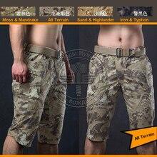 ALL terrain camo Shorts Ripstop Army Shorts Men Combat Shorts trainning