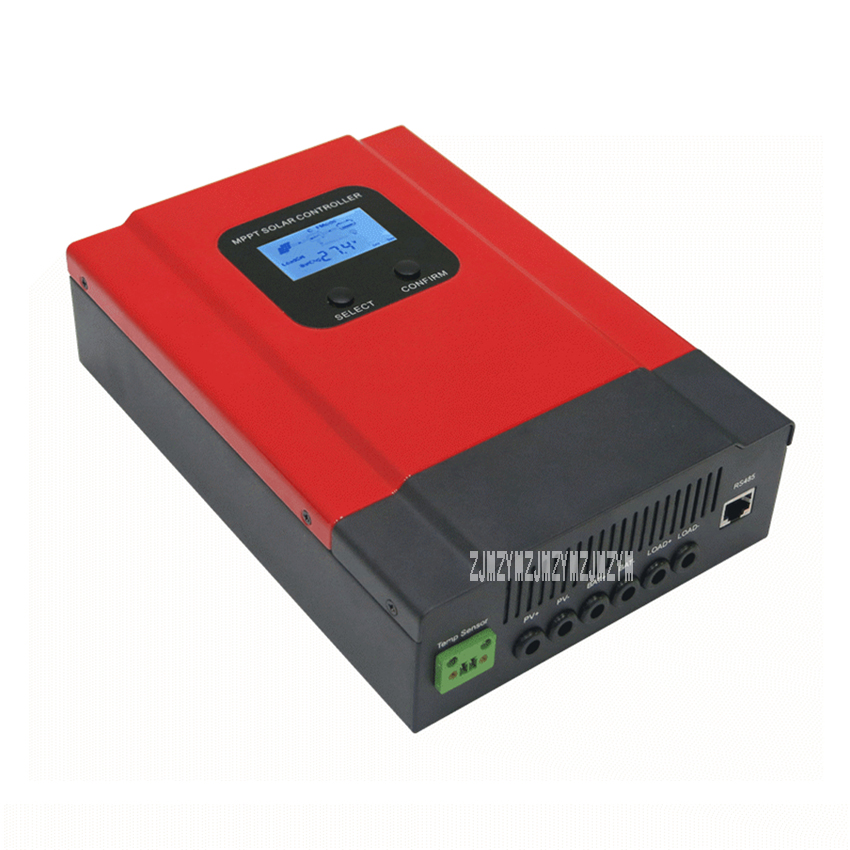 High efficiency 20A/30A/40A/50A/60A Smart MPPT Solar Charge Controller Power Generation System Controller DC12V 24V 36V 48V Auto 48v 30a intelligent 48v solar charge controller for solar power system solar power controller
