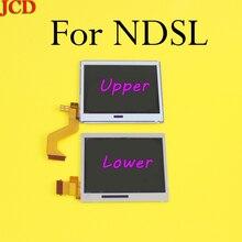 10 części/partia górny górny zamiennik ekranu wyświetlacza LCD dla Nintendo DS Lite dla DSL dolny dolny dla NDSL DSLite