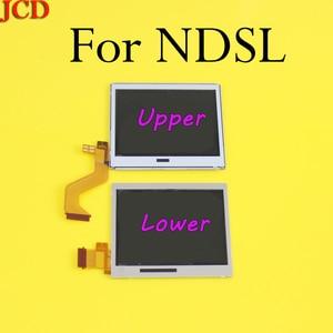 Image 1 - 10 أجزاء/وحدة العلوي العلوي شاشة الكريستال السائل قطع غيار للشاشة لنينتندو DS لايت ل DSL أسفل السفلي ل NDSL DSLite
