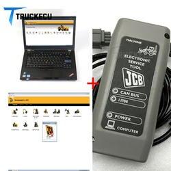 T420 ноутбук + Услуги мастер SM4.1.45.3 JCB Electronic Услуги интерфейс для экскаватор сельскохозяйственных строительство диагностики