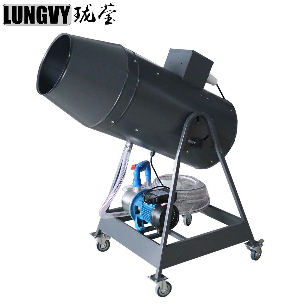 Free Shipping 1800W Foam Machine DJ Party Spraying Cannon Power Control Super Big Jet Machine Long Distance Stage Effect