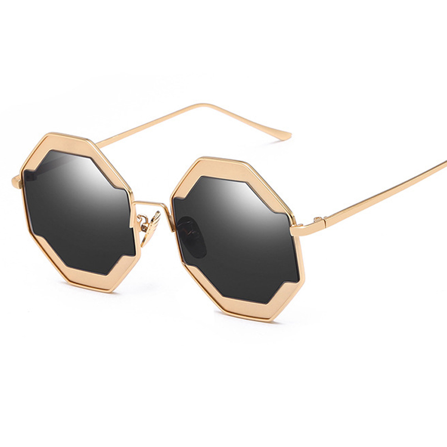 Hexagon Sunglasses Fashion Glasses Women Sunglasses 2018 Glases Lunettes De Soleil Homme ...