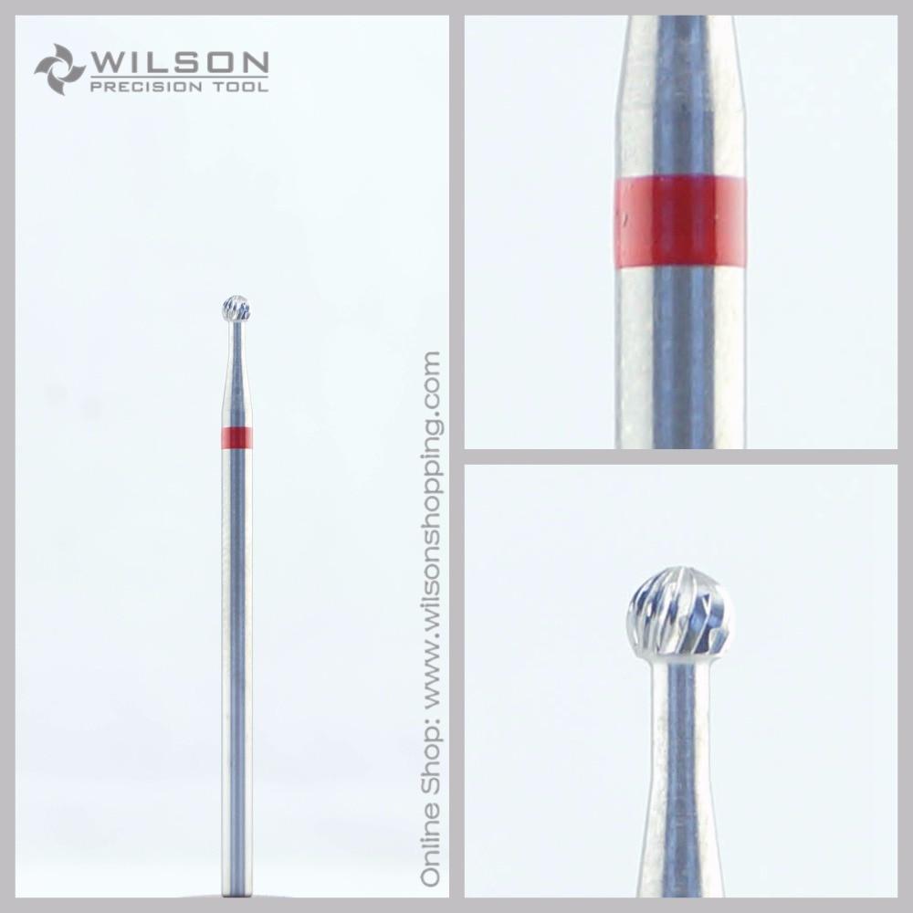 Cross Cut - Fine(5000201) - ISO 140 - Tungsten Carbide Burs - WILSON Carbide Nail Drill Bit&Dental Burs