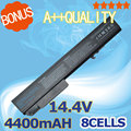 8CELL 4400mah 14.4v laptop battery for hp 458274-421 484788-001 493976-001 501114-001 HSTNN-LB60 HSTNN-OB60 HSTNN-XB60 KU533AA