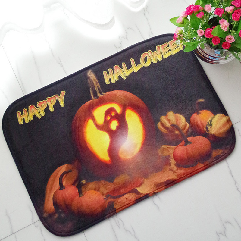 Great Halloween Floor Mat Pumpkin Lantern Carpet Shower Bathroom Mat Toilet Rugs  Kitchen Mat Home Decoration In Mat From Home U0026 Garden On Aliexpress.com |  Alibaba ...