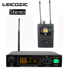 Leicozic Stereo in ear monitor system professional stereo wireless monitor system for stage performance monitoring system 782IEM em2050 wireless in ear monitor system 10 ear monitoring systems wireless stage monitor system em2050 iem bodypack monitor