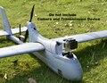 RC modelo de avión UAV FPV V2 Actualizar Motor raptor Torre esquema de ajuste 2 m unibody empujador (757-V2) PNP y KIT