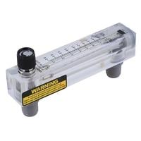 LZM 15T Adjustable Panel Type Flowmeter Flow Meter for Liquid 0.2 2.0GPM