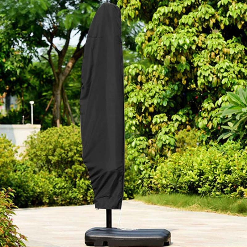 Patio Umbrella Covers With Zipper: Outdoor Waterproof Patio Umbrella Cover Garden Banana