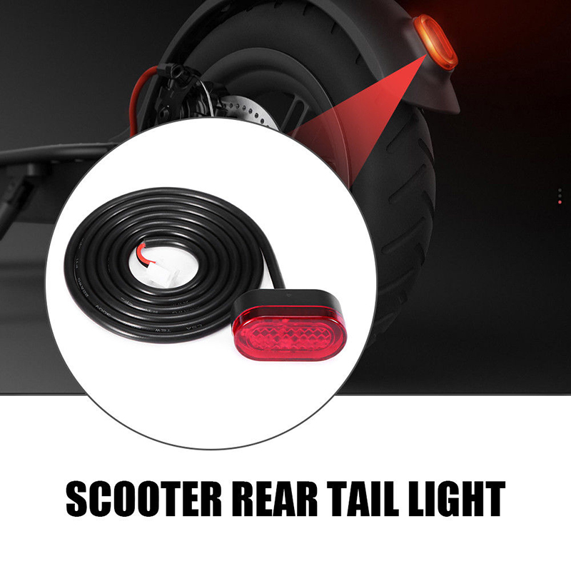 Black Light Accessories Replacement For Xiaomi Mijia M365 Electric Scooter Skateboard X7V0(China)