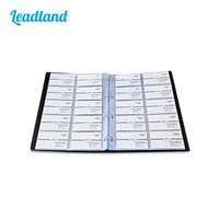 Kingfom Classical Large Capacity Leather Business Card Holder Card Collection Book 600 Cards 1495