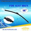 """Lâminas Do Limpador traseiro Para SEAT IBIZA SC Coupe (2011-) 2012 2013 2014 2015 Car Windscreen Windshield Wiper Blade 14 """"carros acessórios"""