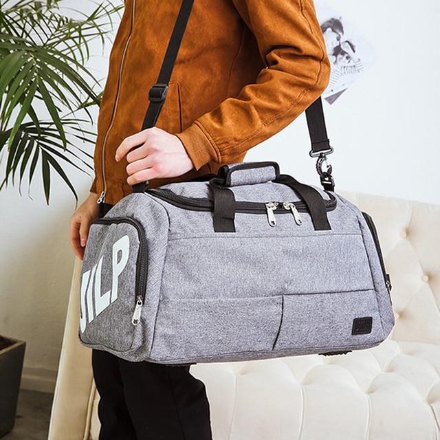 Big Capacity Sport Gym Bag Handbag Men and women Sports bag Fitness Bag Yoga bags Waterproof Gymnastic Travel Shoulder crossbody