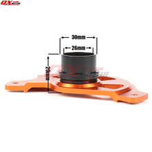 цена на Motorcycle Front Brake Disc Rotor Guard Protector Cover Mounting For KTM SX SXF XC XCF EXC EXCF 125 200 250 300 350 450 530