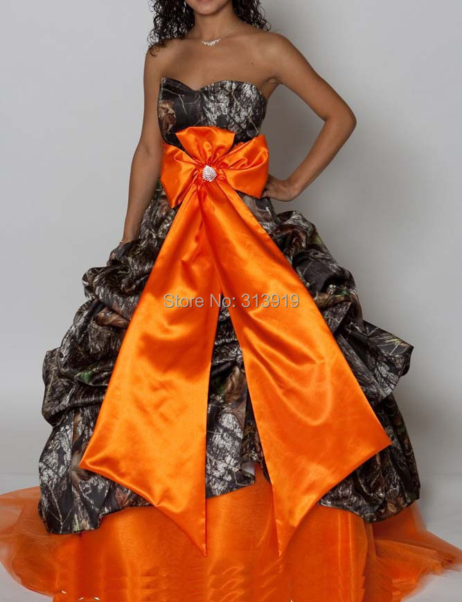 sweetheart camo   prom     dresses   2019 mossy oak camouflage ball gowns pluz size custom make free shipping