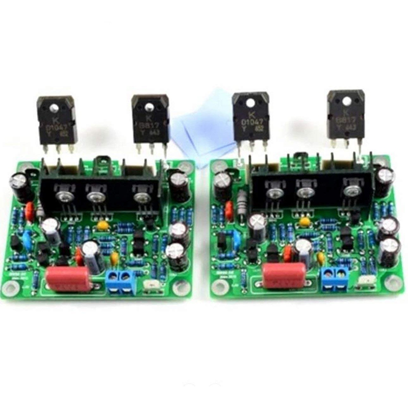 2Pcs Mx50 Se 100Wx2 Dual Channels Audio Power Amplifier Board Hifi Stereo Amplifiers Diy Kit(China)