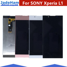 Original 5.5'' LCD Display For SONY Xperia L1 LCD Display G3312 G3311 G3313 Touch Screen for Sony L1 LCD Digitizer with Frame original new 3lfi2scn030 3lfi2scn010 for sony svf14na1ul svf14n100c svf14n lcd back cover hinge kit lcd display cable 30pins