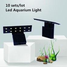10 комплектов ультратонкая светодиодная лампа для аквариума