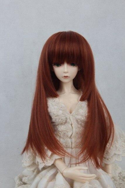 Кукла парик для BJD/SD 1/3 1/4 Шкала БЖД парик. разнообразие цветов. A15A1062. только продаем парик. Not включены куклы аксессуары