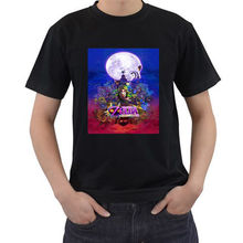 Gildan Legend of Zelda: Majora's Mask Black T-shirt Gildan New ::Men's and Youth's:: men's t-shirt