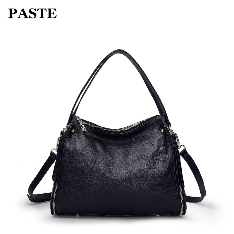 2018 Genuine Leather Shoulder Bags Luxury Designer Women Handbags Messenger Bags Crossbody Bags For Ladies bolsa feminina PT34 nastenka ladies shoulder crossbody bags for women leather mini messenger bag luxury handbags women bags designer bolsa feminina