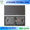 320 * 160 мм HUB75 64 * 32 точек 16 сканирования rgb smd p5 из светодиодов дисплей / p5 из светодиодов модуль