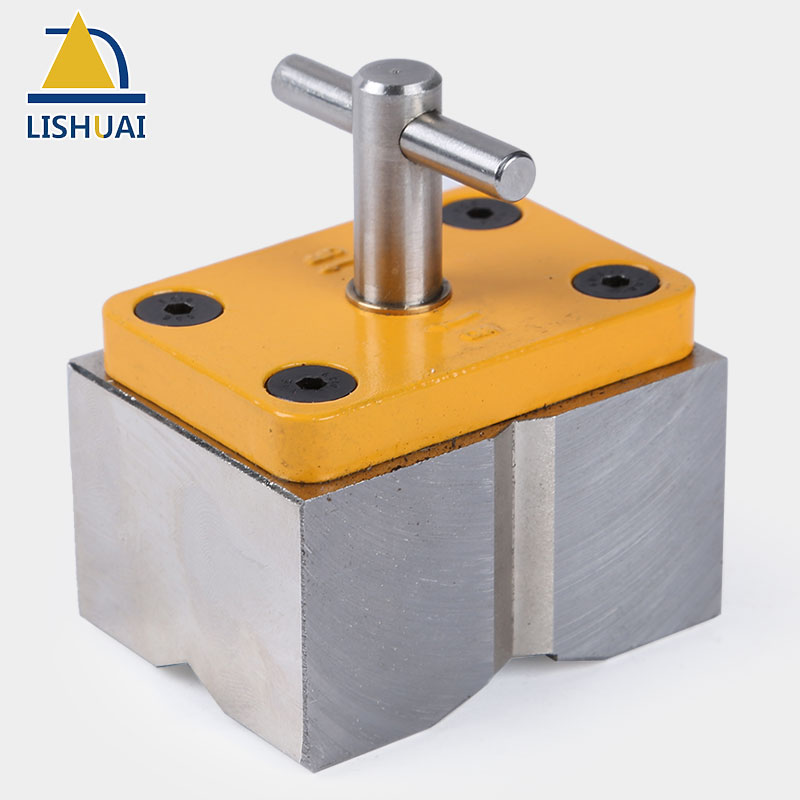 LISHUAI On Off Neodymium Magnet Square Welding Magnet Powerful Magnetic Welding Holder Clamp MWC1