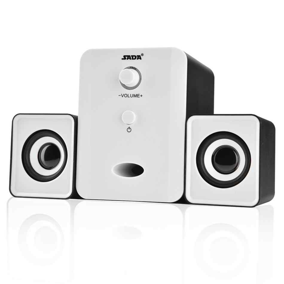 Audio & Video Accessories Computer Speakers Black Mini USB Wired ...