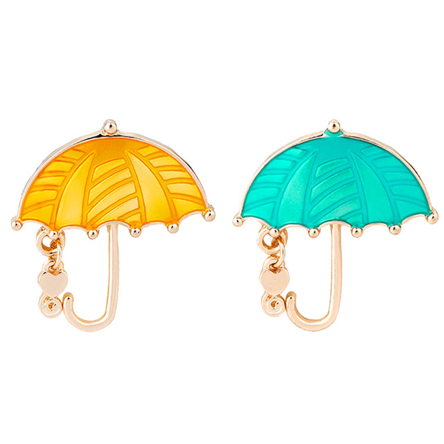 Bling Rhinestone Umbrella Personalized Brooch Decorative Garment  Accessories Wedding Bridal Brooch Pin Women Shirt Bag Accessory a63e22df0a03