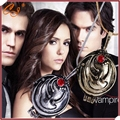 The Vampire Diaries necklace Elena Gilbert vintage vervain verbena pendant jewelry for men and women wholesale European Style