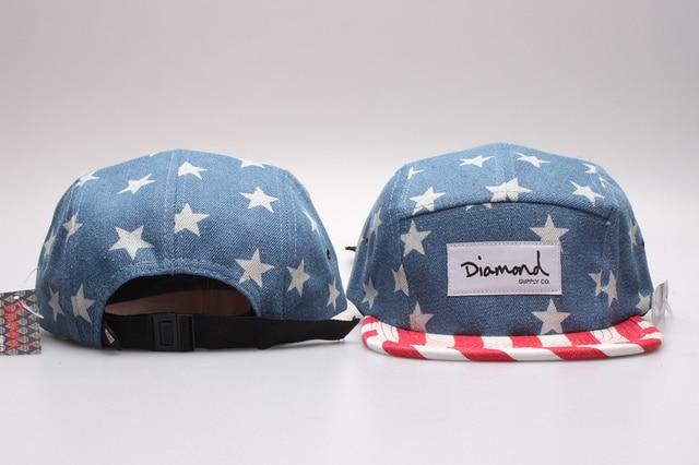 e13a26b0e68a7 new Brand casquette diamond snapback cap 5 panel floral baseball caps hip  hop gorras strapback hats cheap casual supremes hat