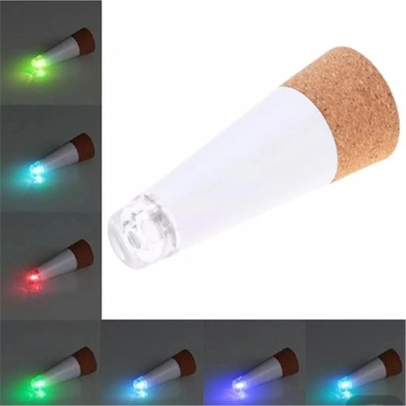 1PCS Corkscrew Light USB Charger Original Light LED Bottle Multicolor LAMP Plug Cork Wine Bottle USB