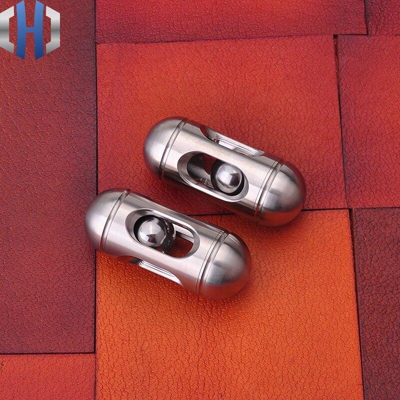 Brinquedos de Descompressão Brinquedo Adulto Carry EDC Chato De Metal Em Aço inoxidável