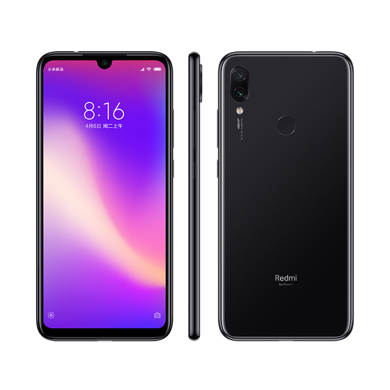 Image 3 - New Xiaomi Redmi Note 7 Pro 6GB 128GB Telephone Snapdragon 675 Octa Core 4000mAh 6.3 Water Drop Full Screen 48+13MP Smartphone-in Cellphones from Cellphones & Telecommunications
