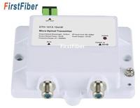 1013 10 мВт микро оптический передатчик FTTH 12 в CATV мини микро передатчик 47 1000 МГц 1310 нм 1550 нм Оптическое волокно с SC/APC