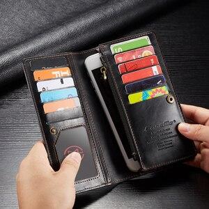 Image 5 - For Xiaomi Mi Note 10 Case Xiomi Mi CC9 Pro Genuine Leather Wallet Cover For Mi Note10 Pro Xiaomi Mi Note 10 Pro Case Fundas