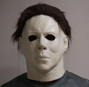 Fancy dress Costume Latex crossdressing Michael Myers Kids Movie Mask