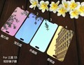 For Samsung S 6 Colorized Mirror Plating Glass Guard Film Screen Protector for Samsung Galaxy S6 Toughened Glass Film