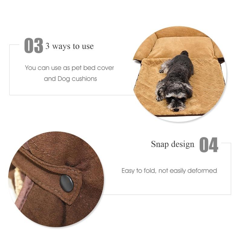 Sofa qen Dog / Cat e butë e butë për kafshë qeni qentë me - Produkte për kafshet shtëpiake - Foto 6