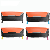 CLT K407S CLT K409S color toner cartridge compatible for Samsung CLP325 320 326 321 310 315 310N 315W CLX3285 3185 3186 3170
