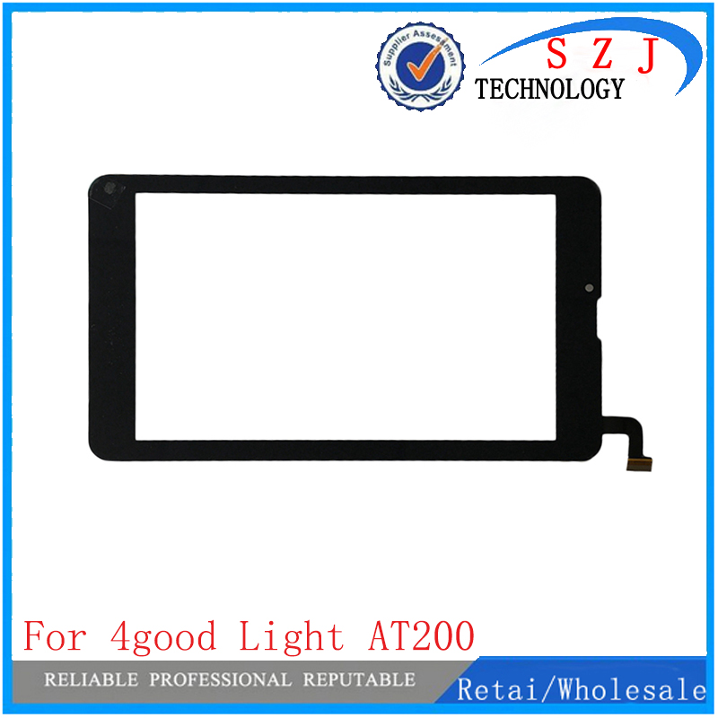 New 7'' inch touch screen For 4good light at200 tablet computer multi touch capacitive panel handwriting Free shipping 10pcs black new 7 inch tablet capacitive touch screen replacement for pb70pgj3613 r2 igitizer external screen sensor free shipping