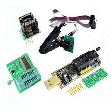 CH341 программист адаптер + SICO8 адаптер + sop8 клипса с тросом + 1,8 Vadapter флэш-память EEPROM BIOS USB программатор ZIF адаптер