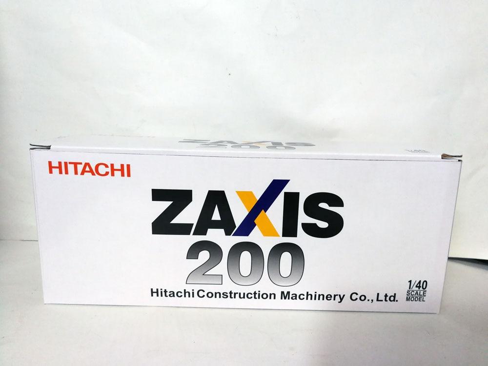 1:40 HITACHI ZAXIS 200 экскаватор игрушки