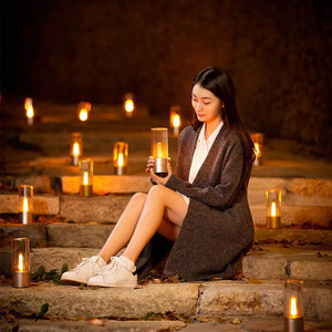 Image 3 - Luz de vela Yeelight, luz led nocturna de Control inteligente romántica, regalo de cumpleaños, luz de vela con aplicación yeelight para chica