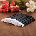 Atacado 100 pcs descartáveis lip escova perfect make up ferramenta gloss wands aplicador transporte da gota
