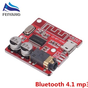 Image 1 - 10PCS Bluetooth Audio Receiver board Bluetooth 4.1 mp3 lossless decoder board Wireless Stereo Music Module