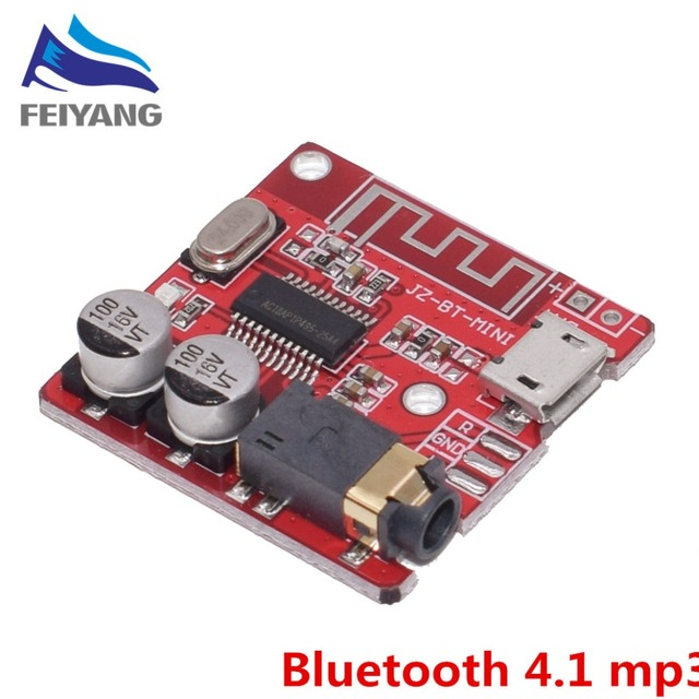 10PCS Bluetooth Audio Receiver board Bluetooth 4.1 mp3 lossless decoder board Wireless Stereo Music Module