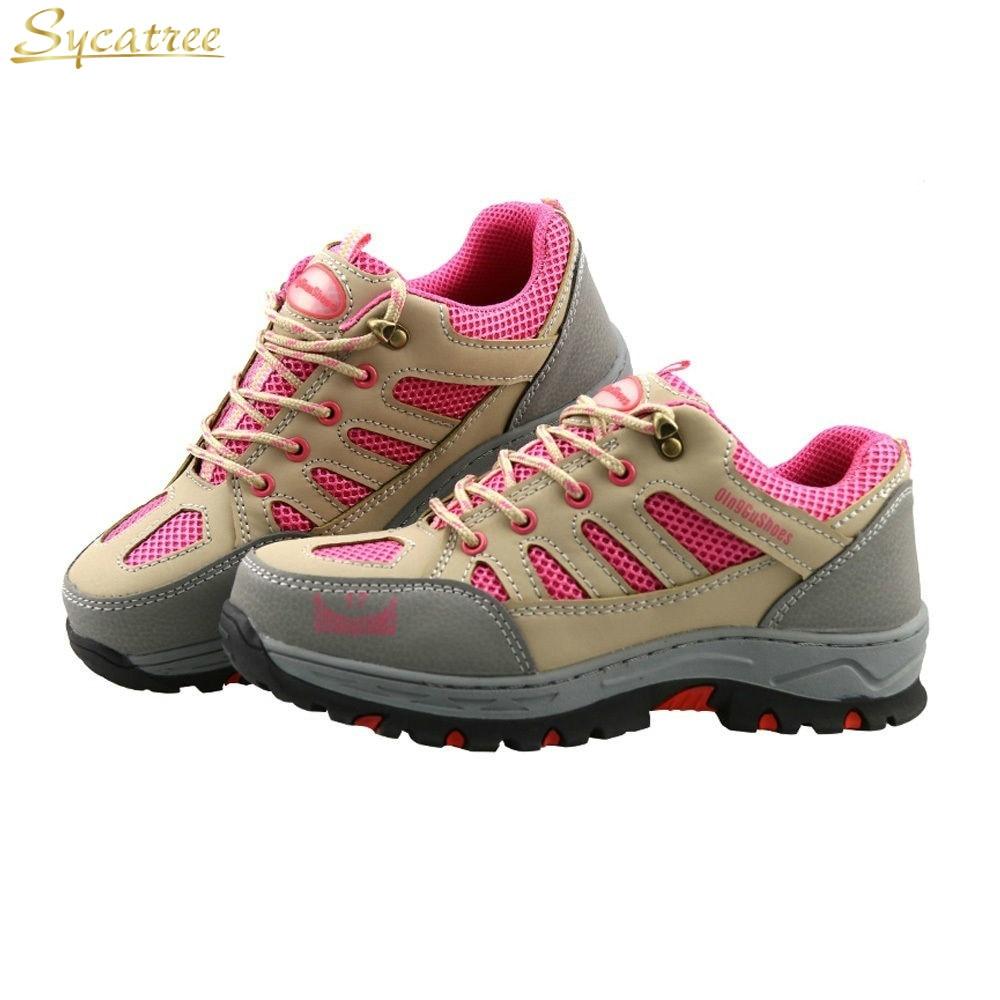 Stivali Safety Traspirante Suola Di Acciaio Scarpe Shoes Sicurezza Pink  Arrampicata Sycatree Ginnastica Costruzione Donne Da In Lavoro ... 6c3ff595d80